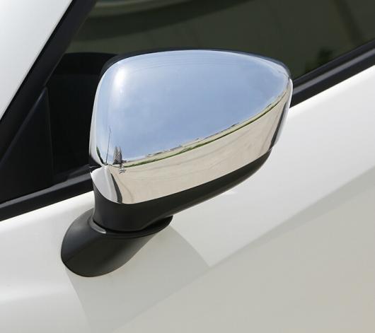 AL 車用メッキパーツ オート バックミラー カバーキャップ CX-5 2013 2014 ABS クローム オートアクセサリー AL-AA-0636
