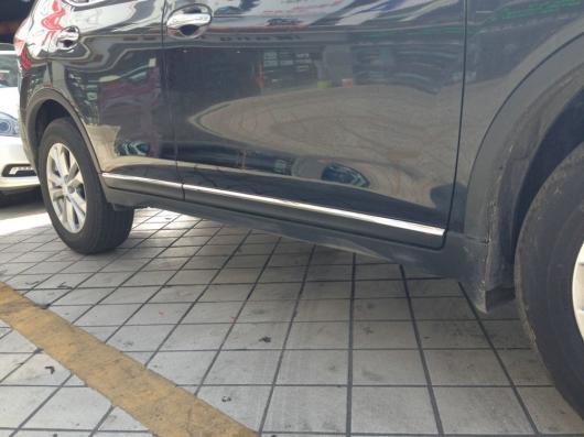 AL 車用メッキパーツ ステンレス スチール オート サイドドアトリム モールディング 日産 X-尾2014 ステンレス スチール オートアクセサリー AL-AA-0679