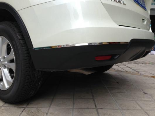 AL 車用メッキパーツ オートフロントバンパー保護ステッカー 日産 X-尾2014 オート 外装アクセサリー AL-AA-0684