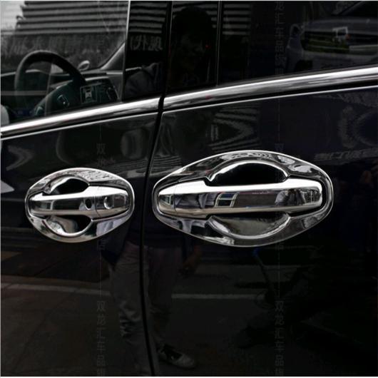 AL 車用メッキパーツ カー オート セダンカバースタイリング HONDAオデッセイ2015 2016 2017 ABS クローム外装ドアカップボウルステッカーアクセサリー モールディング トリム 8pcs AL-AA-1015