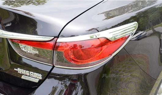 AL 車用メッキパーツ クローム リア ランプ テールライト モールディング フレーム カバー トリム アテンザ マツダ 6 2013 2014 2015 AL-AA-1018