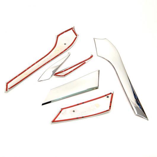 AL 車用メッキパーツ トヨタ ランド クルーザー プラドJ150 FJ150 2010 2011 2012 2013 ABS クロームヘッドライト アイリッド カバートリムヘッドライトランプフレーム6ピース AL-AA-1138