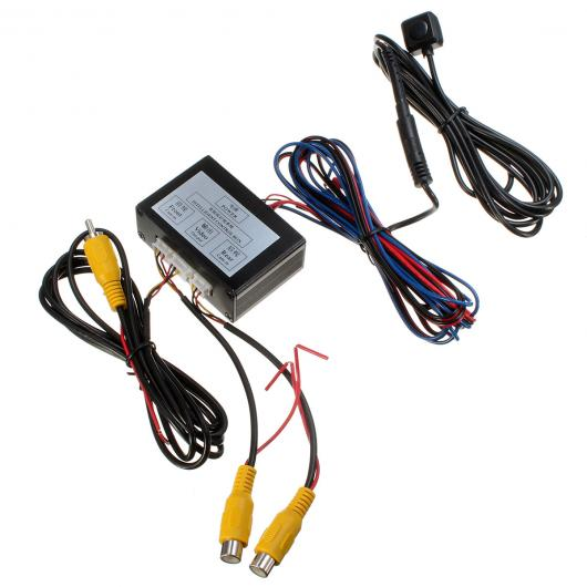 AL カー用品カメラ インテリジェント コントロール カー カメラビデオスイッチ カー ビデオ自動スイッチ 接続フロント サイド リアカメラ AL-AA-1583