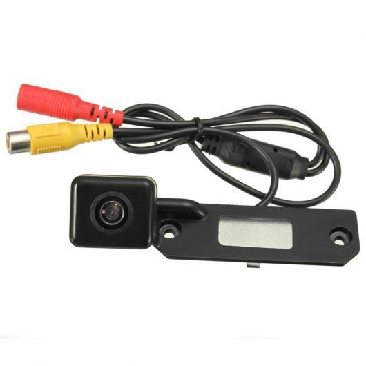 AL カー用品カメラ 無線 カー CCDバックアップリアビューカカム+カラービデオ受信機 VW パサート ゴルフ T5 キャディー AL-AA-1604