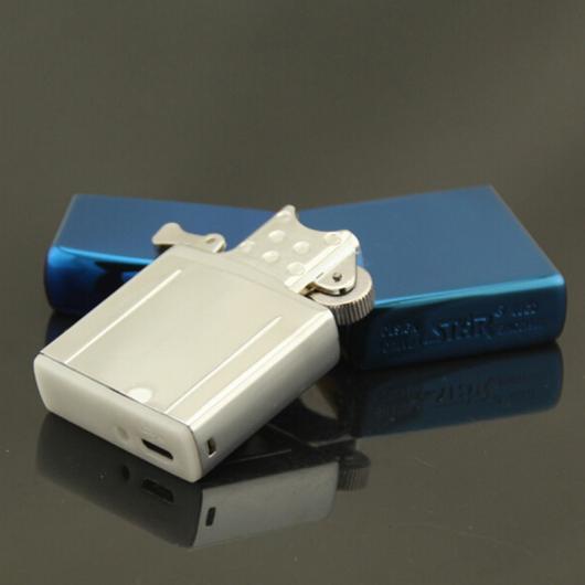 AL USBライター 1ピースブルーアイスUSB充電シガーライター USBシガーブタンライタートーチジェット防風ライターアーク環境保護 AL-AA-2006