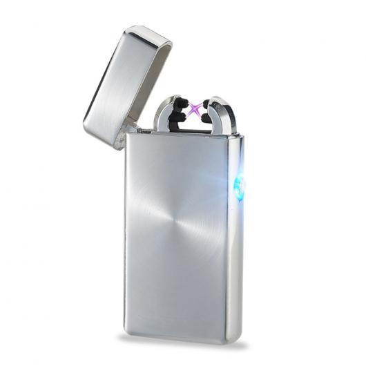 AL USBライター プラズマライターアークUSBシガー ライター 練炭USB フレームレス ガジェット 選べる3カラー ブラック,ゴールド,シルバー AL-AA-2009
