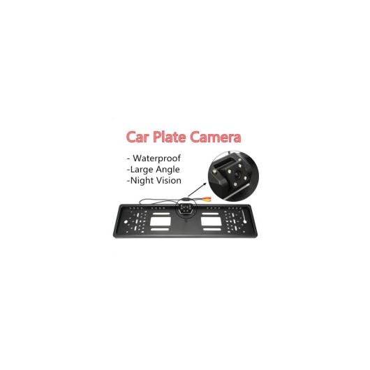 AL カー用品カメラ 防水欧州ナンバープレートフレームリアビューカメラオート カー リバース バックアップ パーキング バックミラーカメラナイトビジョン170度 AL-AA-1638