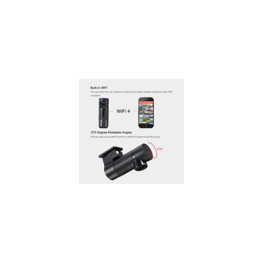 AL カー用品カメラ ミニ Wifi カー DVR 車載カメラ HD ダッシュボード カメラ レコーダー 270回転角Gセンサーループ録画 カム AL-AA-1730