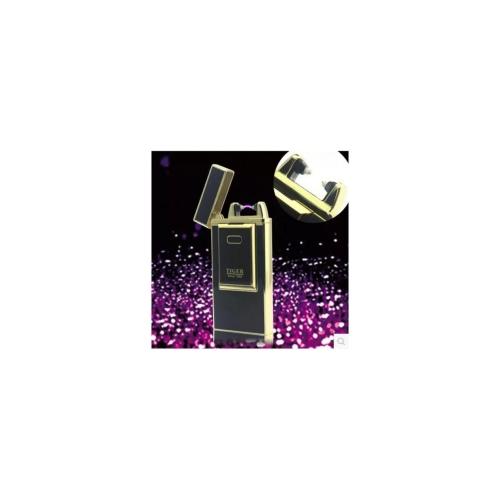 AL USBライター タイガープラズマUSB充電アークライターUSB防風電子タバコライターノ電気煙シガーライター 選べる3カラー ブラック,ホワイト,イエロー AL-AA-2075