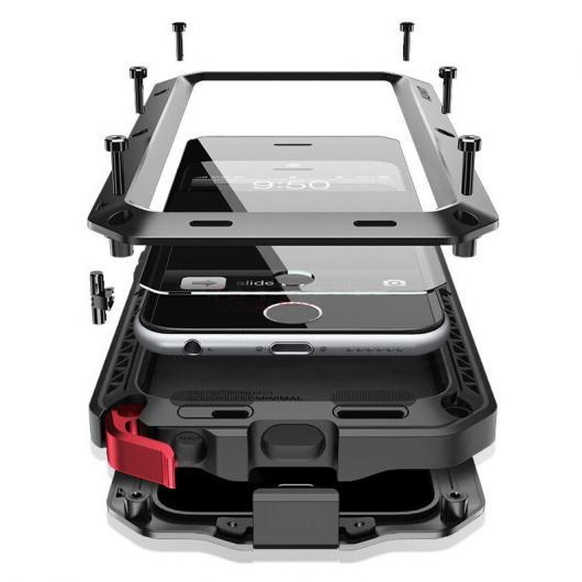 AL スマートフォンケース アーマー ライフ ショックアンチ 耐衝撃 メタル アルミ+シリコン保護 カバー iPhone iPhoneX ケース 選べる6カラー iPhoneX AL-AA-2141