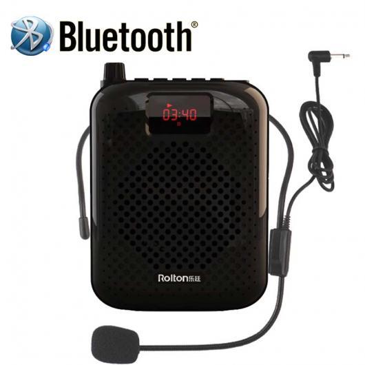 AL Bluetooth メガホン ポータブル 音声 アンプ ウエストバンドクリップサポートラジオTF MP3 ツアーガイド 教師 選べる2カラー AL-AA-2185