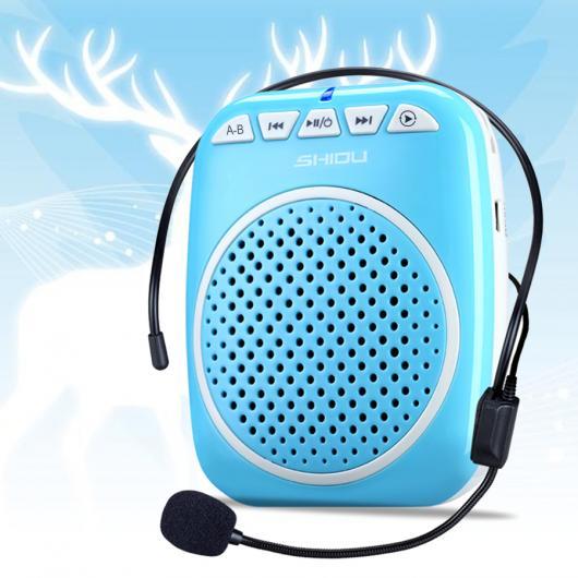 AL ポータブル スピーカー 音声 アンプ ミニ ツール 教育ツアーガイドセールス メガホン 選べる2カラー AL-AA-2194