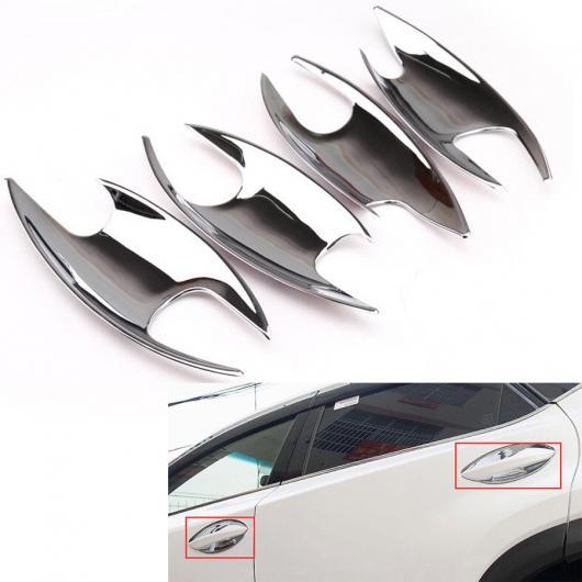 AL 車用メッキパーツ 4ピース カー 外装 ドア ハンドル ボウル カバー スタイリングスパンコール レクサス NX NX200 NX200T NX300h 2015 クローム AL-AA-2793