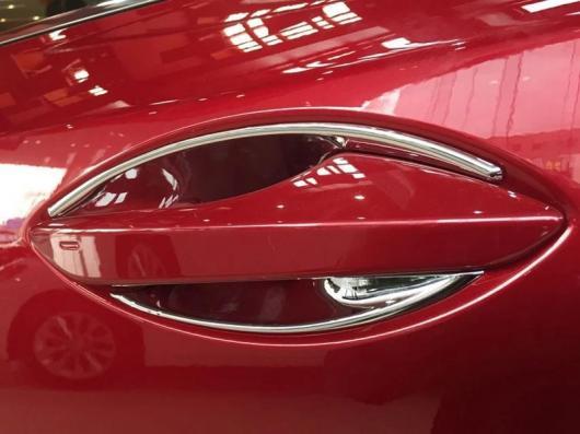 AL 車用メッキパーツ カースタイリング外装 ABS クローム サイド ドア ハンドル カバー デコレーション 4ピース レクサス NX NX200 NX200T NX300h 2015 2016 2017 AL-AA-2802