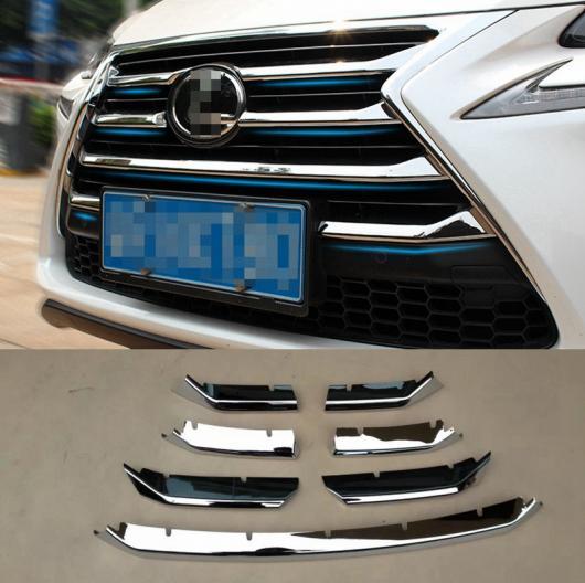 AL 車用メッキパーツ ABS クローム フロント上部グリルセンターグリル カバー アラウンド カバー レクサス NX NX200 NX200T NX300h 2015 2016 2017 カー AL-AA-2814