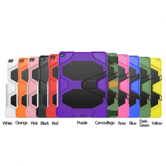 AL iPadケース 3in1 ハイブリッドプラスチック+シリコン 衝撃吸収 デュアルレイヤー 背面 カバー ケース iPad Pro 選べる11カラー AL-AA-3297