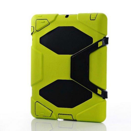 AL iPadケース 3in1 ハイブリッドプラスチック+シリコン 衝撃吸収 堅牢 アーマー 背面 カバー ケース iPad 4/3/2 iPad 3 iPad 4 選べる6カラー ブラック,レッド,ブルー,グリーン,パープル,ローズ AL-AA-3300