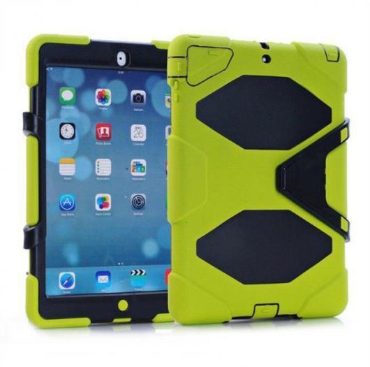 AL iPadケース 3in1 ハイブリッドプラスチック+シリコン 衝撃吸収 堅牢 ミリタリー アーマー 背面 カバー ケース iPad Air 1 iPad 5 選べる7カラー AL-AA-3303