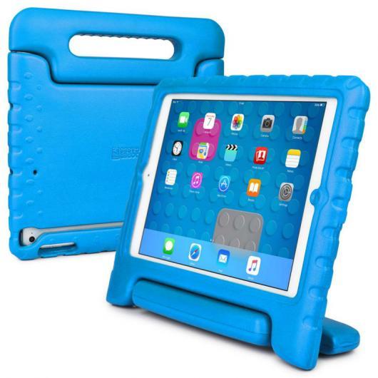 AL iPadケース 子供 ケース iPad Air 1,クーパーダイナモ 堅牢 子供 男子 女子 ケース カバー+大型ハンドル 選べる5カラー ブルー,グリーン,オレンジ,パープル,ピンク AL-AA-3307