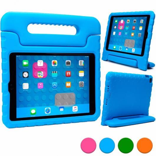 AL iPadケース 子供 ケース iPad mini 4タブレット ケース 軽量 衝撃吸収子 EVA発泡 内蔵ハンドル 視聴スタンド 選べる5カラー ブルー,グリーン,オレンジ,パープル,ピンク AL-AA-3310