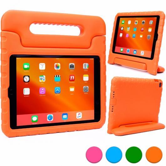 AL iPadケース 子供 ケース iPad Air2 タブレット ケース 軽量 衝撃吸収子 EVA発泡 内蔵ハンドル 視聴スタンド 選べる5カラー ブルー,グリーン,オレンジ,パープル,ピンク AL-AA-3313