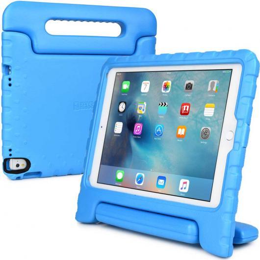 AL iPadケース 子供 ケース iPad PRO 9.7 クーパーダイナモ 堅牢 子供 男子 女子 ケース カバー +大型ハンドル 選べる4カラー ブラック,ブルー,グリーン,パープル AL-AA-3317