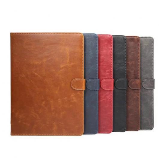 AL iPadケース iPad Air 2 PUレザー 保護 タブレット アクセサリー カバー スタンド 機能 選べる6カラー ブラック,レッド,ブルー,グレー,ダークブラウン,ライトブラウン AL-AA-3418