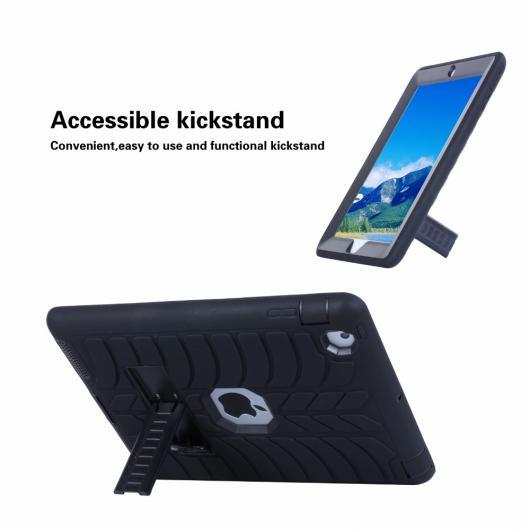 AL iPadケース iPad 4 9.7 防塵 トレンドスタイル ソフト シリコンPCハイブリッド保護 タブレット カバー 選べる5カラー ブラック,ブルー,グリーン,パープル,ローズレッド AL-AA-3477