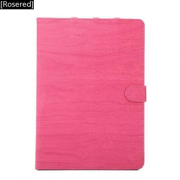 AL iPadケース iPad Pro 10.5 PUレザー フリップ カバー 防塵 タブレット バッグ シェル [Rosered] AL-AA-3488