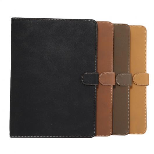 AL iPadケース iPad 9.7 9.7 2017 PUレザー フリップ スタンド カバー 保護シェル タブレット 選べる4カラー ブラック,グレー,ブラウン,ライトブラウン AL-AA-3491