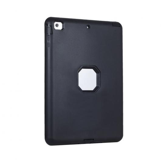 AL iPadケース タブレット カバー iPad 5 iPad Air 9.7インチ ソリッド 保護シェル ピックハードPC 選べる4カラー ブラック,ブルー,パープル,ローズレッド AL-AA-3609