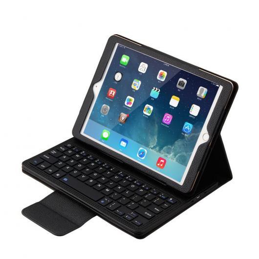 AL iPadケース キーボード iPad 2/3/4 PUレザー カバー フォリオ PORTFOLI + な タブレット Bluetooth 選べる5カラー ブラック,ホワイト,レッド,ブルー,ピンク AL-AA-3691