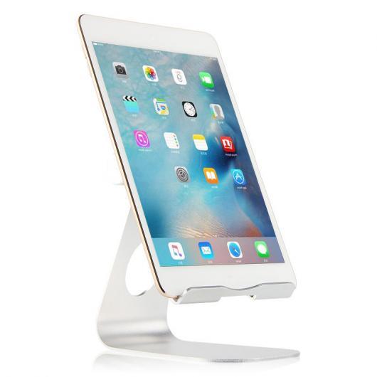 AL iPadスタンド メタル ステント iPad mini 1/2/3 3 タブレット PC サポート デスクトップ アルミ合金 ケース 選べる2カラー シルバー,ローズゴールド AL-AA-3754