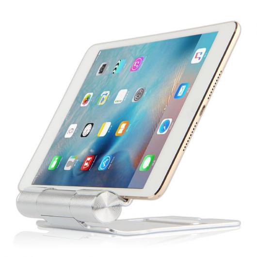 AL iPadスタンド タブレット メタル ステント サポート iPad mini 1/2/3/4 4 デスクトップ ディスプレイ アルミ ケース シルバー AL-AA-3764
