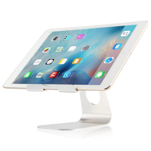 AL iPadスタンド タブレット PC iPad 1/2/3/4 2 メタル ステント サポート 1 デスクトップ アルミ合金 ケース 選べる2カラー シルバー,ローズゴールド AL-AA-3767