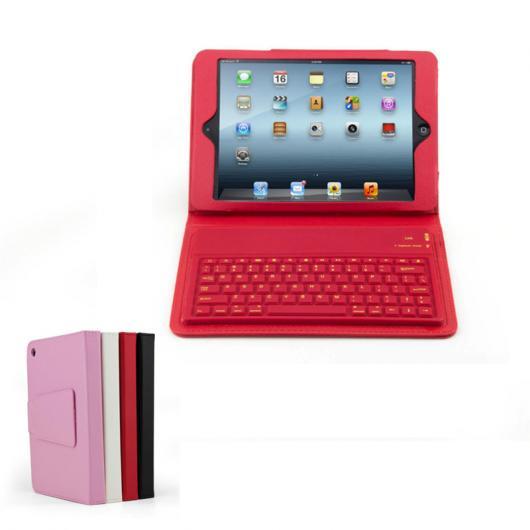 AL iPadケース キーボード iPad mini 1/2/3 PUレザー保護 スタンド カバー Bluetooth 選べる8バリエーション AL-AA-3593