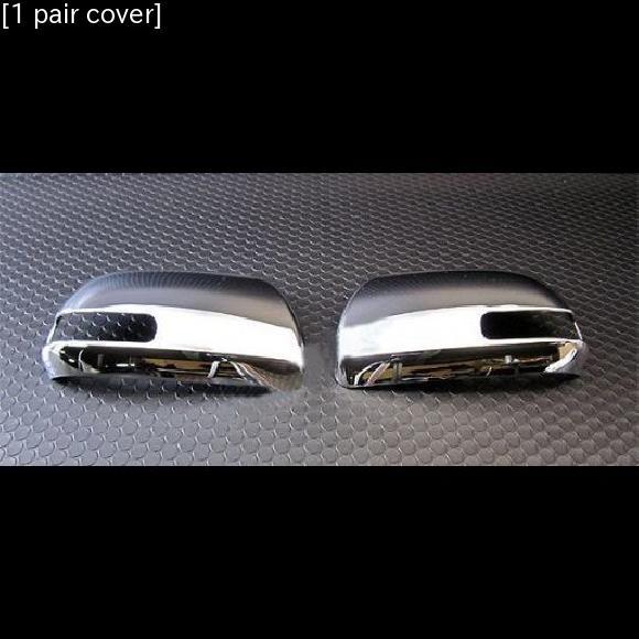 AL 車用メッキパーツ トヨタ エスティマ クロームミラー カバー シェル ACR50 AL-AA-4901