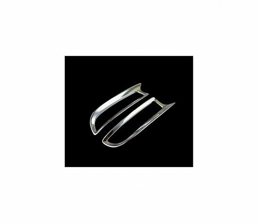 AL 車用メッキパーツ トヨタ エスティマ ABS クロームリアフォグライト カバー トリムフレーム オート 外装スタイリング 2ピース タラゴ 2016 AL-AA-4905