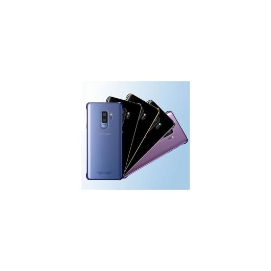 AL サムスン Galaxy スマホケース 透明メッキ ハード 保護 ケース カバー 衝撃吸収 選べる5カラー ブラック,ブルー,パープル,ゴールド,シルバー 選べる2適用品 Galaxy S9,Galaxy S9Plus AL-AA-4982