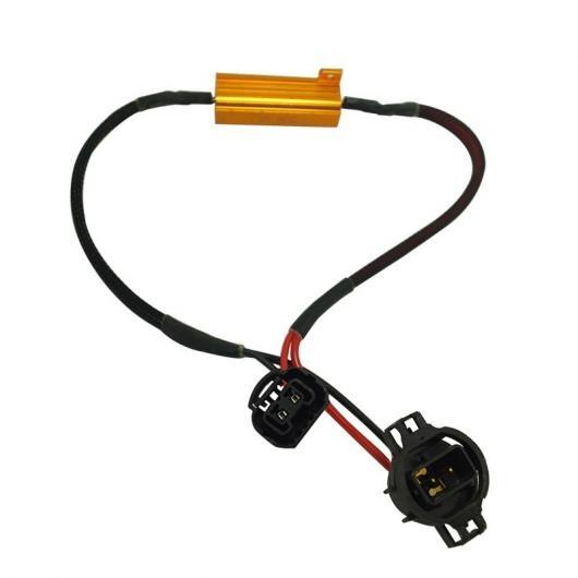 AL キャンセラー 4ピース H16 LED デコーダ ワーニング エラー ターン シグナル ブレーキランプアンチフリッカー負荷抵抗 AL-AA-5876