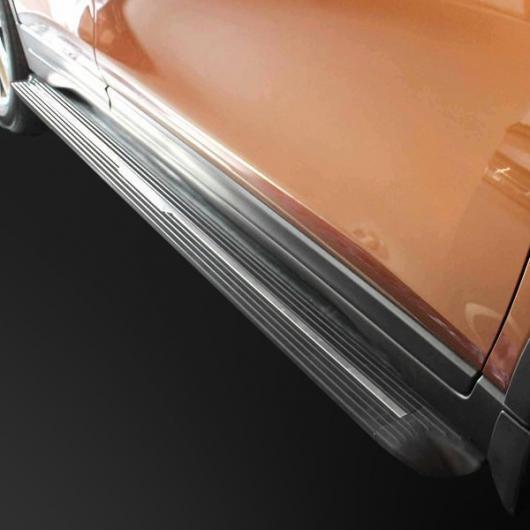 AL 車用メッキパーツ ランニングボード ナーフ バー サイドステップ 日産 エクストレイル ローグ2014-2017 ブラック AL-AA-6019