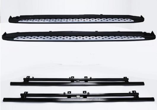 AL 車用メッキパーツ アウトランダー ランニングボード サイドステップ アルミバーペダル 三菱 2013 2014 2015 デザイン ナーフ バー AL-AA-5898