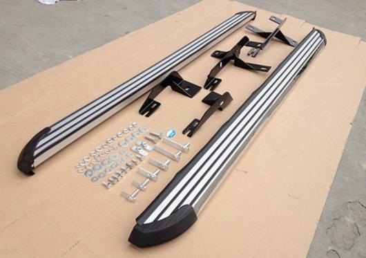 AL 車用メッキパーツ スタイル 三菱 RVR ASX アウトランダースポーツ2010 + ランニングボード サイドステップ ナーフ バー AL-AA-5905