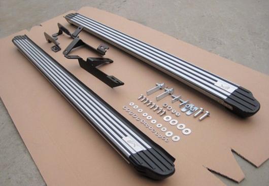 AL 車用メッキパーツ スタイル 三菱 RVR ASX アウトランダースポーツ2010 + ランニングボード ナーフ バー サイドステップ AL-AA-5908