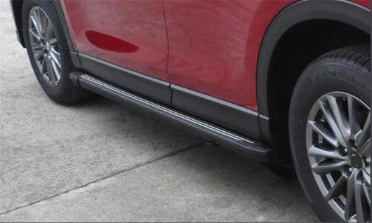 AL 車用メッキパーツ アルミ ランニングボード サイドステップ ナーフ バー マツダ 世代 オール CX-5 2017 2018 AL-AA-5966