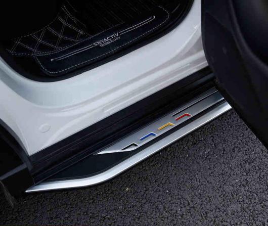 AL 車用メッキパーツ アルミ ランニングボード サイドステップ ナーフ バー マツダ 世代 オール CX-5 2017 2018 AL-AA-5967
