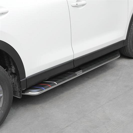 AL 車用メッキパーツ ランニングボード マツダ CX-5 2017 2018 2019 ナーフ バー サイドステップ AL-AA-6061
