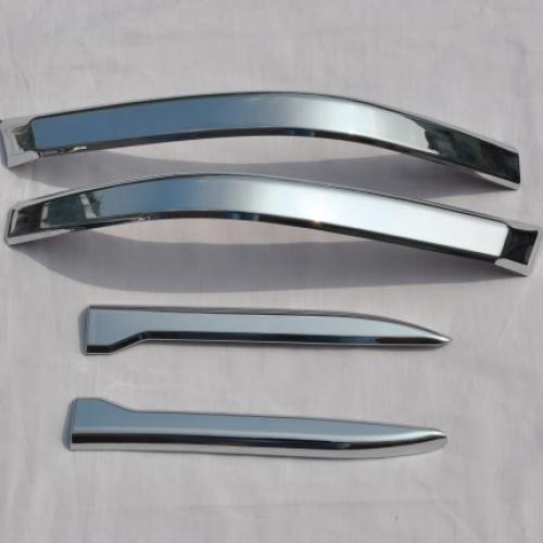 AL 車用メッキパーツ 2008-2011 クローム テール ライト ランプ カバー トヨタ ランドクルーザー 200 FJ AL-AA-6217