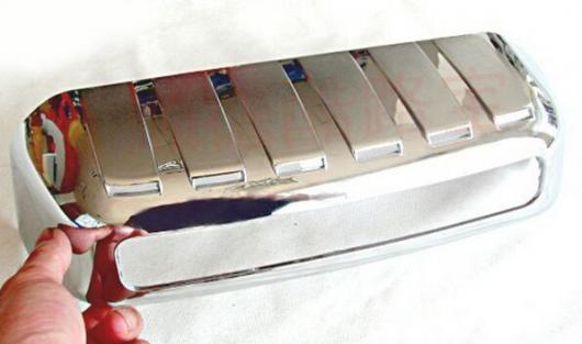 AL 車用メッキパーツ 2003-2007 2008 ABS クローム トヨタ ランドクルーザー プラド 120 ナンバーフレーム FJ120 AL-AA-6275