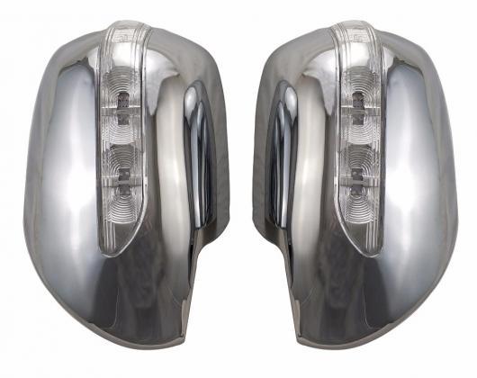 AL 車用メッキパーツ ABS クローム トヨタ ランドクルーザー プラド 120 LED FJ120 2003 -2008 AL-AA-6277